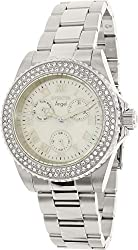 Invicta Women's 17411 Angel Quartz Chronograph White Dial Watch