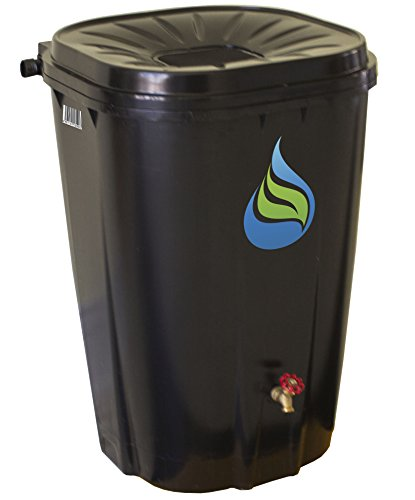 Enviro World corporation EWC-14 Freegarden Rain Barrel Collection Lawn and Garden, Black by Enviro World (Image #1)