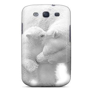 Ideal Mialisabblake Case Cover Galaxy S3(polar Bears), Protective Stylish Case