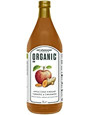 Eat Wholesome Organic Raw Apple Cider Vinegar With Turmeric & Cinnamon, 1L