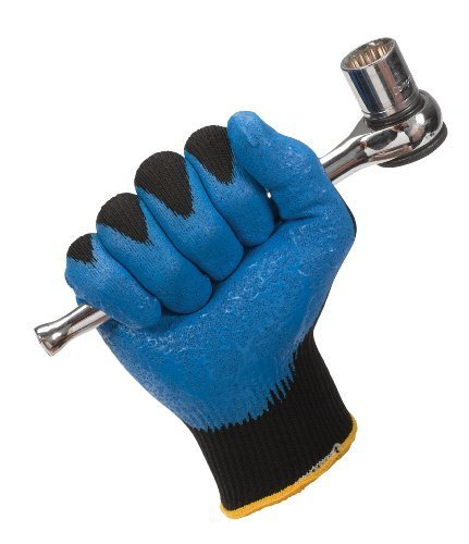 40227 Jackson Safety G40 Nitrile Foam Coated Gloves, 9 (Large) Size, Blue (Pack of 12 Pairs) by Kimberly-Clark Professional