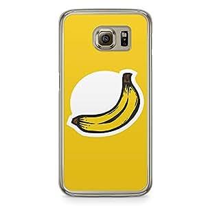 Samsung Galaxy S6 Transparent Edge Phone Case Banana Phone Case Logo Banana Samsung S6 Cover with Transparent Frame