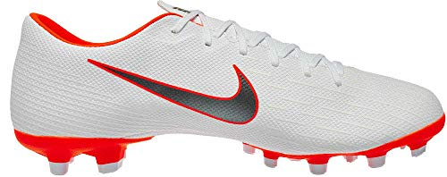 Nike Mercurial Vapor Orange - Nike Mercurial Vapor 12 Academy MG (White/Total Orange) (Men's 9.5/Women's 11)