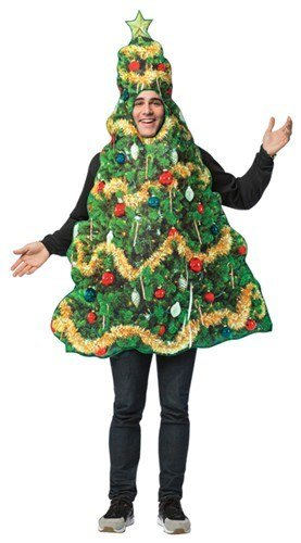 Womens Christmas Tree Costume (Get Real Christmas Tree)