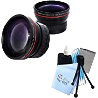 Vivitar Series 1 RedLine HD 2.2X Telephoto Lens w/ Complete Cleaning Kit for Canon 1 DX 5D Mark II 5D Mark III Cameras