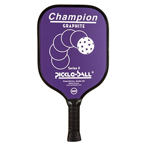 Pickleball, Inc. Vintage Champion Pickleball Paddle (Purple, Thin grip - (Vintage Pickle)