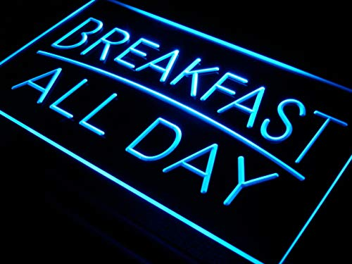 Cartel Luminoso ADV PRO i311-b BREAKFAST ALL DAY OPEN Cafe ...