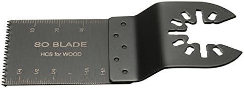 Queenwind の 10pcs 35mm 高炭素鋼は、あまりにもボッシュファインポーターブラックとデッカー振動マルチのためのブレードを見ました