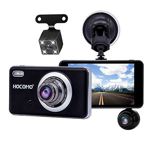 Car Dash Cam, HOCOMO Car Dashboard Camera 170°Wide Angle 4