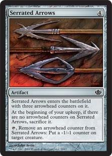 (Magic: the Gathering - Serrated Arrows - Duel Decks: Garruk vs Liliana)