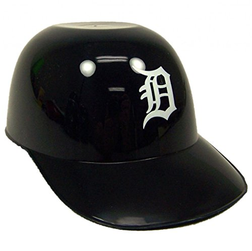 MLB Mini Batting Helmet Ice Cream Sundae Snack Helmet Bowls - Detoit Tigers - 10 Pack