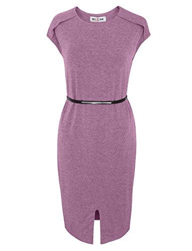 Buy belted midi summer dress - 3