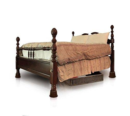slipstick cb652 3 inch under bed storage bed risers import it all. Black Bedroom Furniture Sets. Home Design Ideas