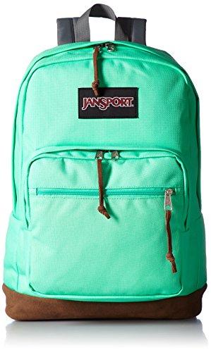 JanSport Right Pack Laptop Backpack- Sale Colors (Seafoam Green) -