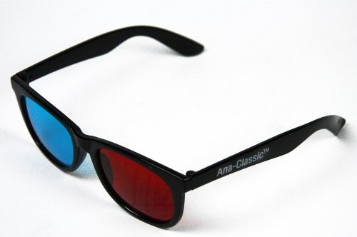 3D Glasses for YouTube Viewing - PRISMACHROME/ANACHROME (TM) Anaglyph Glasses - with Diopter (Anachrome 3d Glasses)