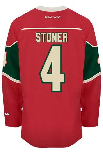 Clayton Stoner Minnesota Wild Reebok Premier Home Jersey NHL Replica  Amazon.ca   Sports   Outdoors 7cdd27501
