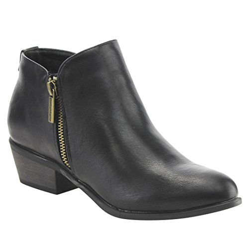 BELLA MARIE Womens Zipper Bootie product image