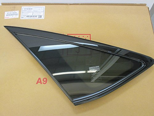 LEXUS OEM FACTORY DRIVERS REAR QUARTER GLASS 04-09 RX330 RX350 RX400H GRAY ()