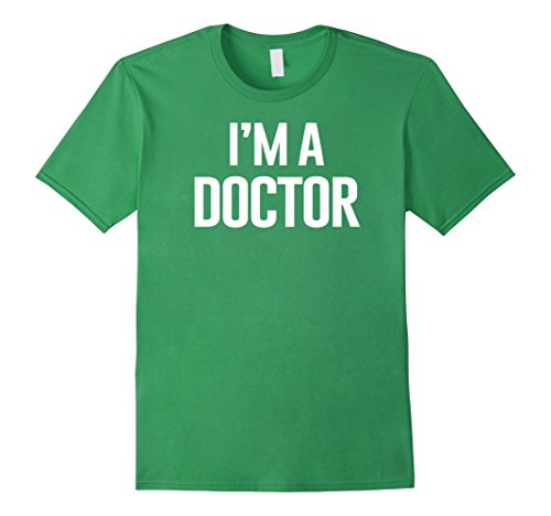 Mens I'm A Doctor Shirt Costume for kids Small (Dr Who Costume Ideas)