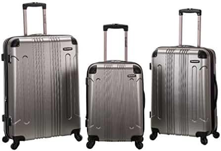 Rockland Luggage 3 Piece Sonic Upright Set