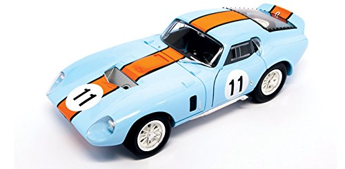 (1965 Shelby Cobra Daytona Coupe, Blue - Road Signature 92408 - 1/18 Scale Diecast Model Toy Car)