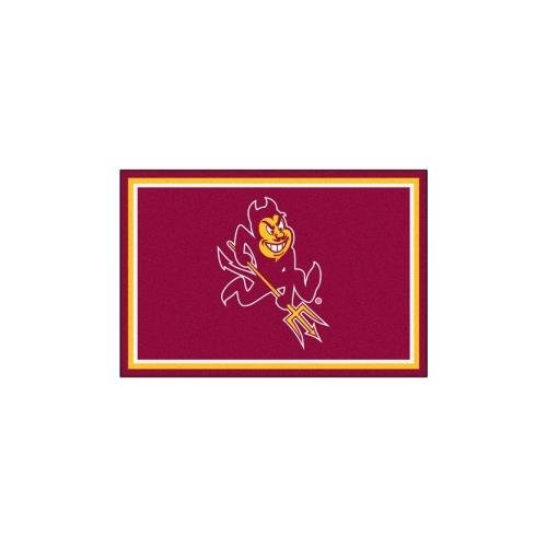 Arizona State Sun Devils Rug - Fanmats Arizona State Sun Devils Rug 5x8