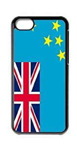 HeartCase Hard Case for Apple iPhone 5C(Flag of Tuvalu ) by supermalls