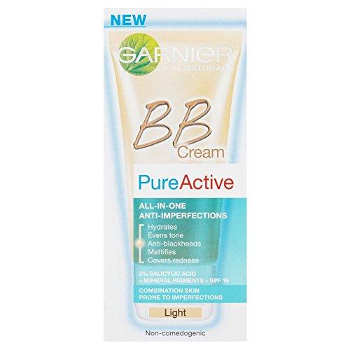 化学薬品中世の解放するGarnier Pure Active BB Cream - Light (50ml) ガルニエ純粋な活性bbクリーム - 光( 50ミリリットル) [並行輸入品]