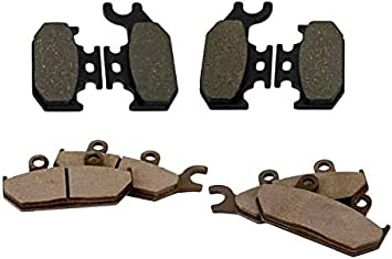 2014 Can-Am Maverick 1000 XMR Front /& Rear Brake Pads