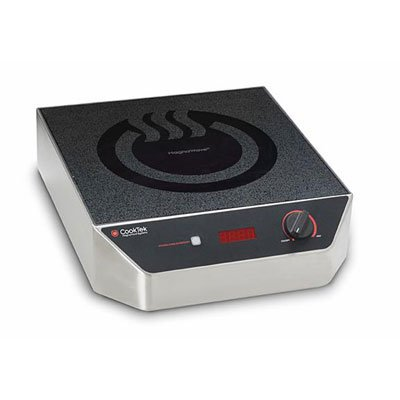 Cooktek MC-3500 208-240V Single Burner Free Standing Induction Cooktop- 3500 Watts -  MC3500