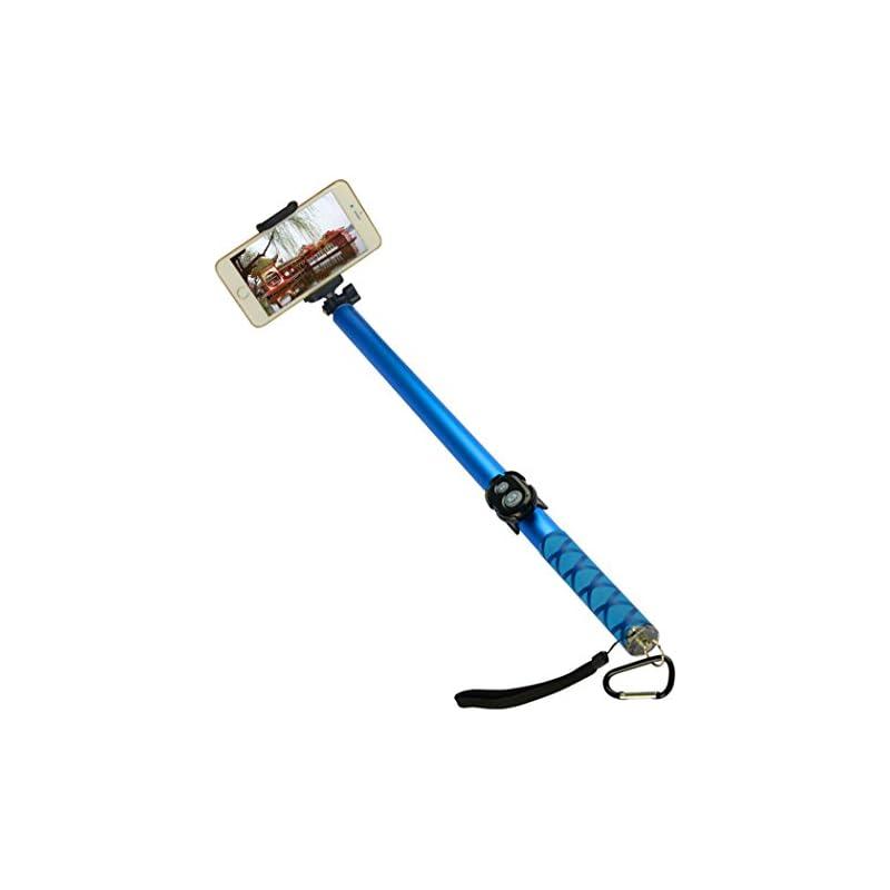 TeslaHome Extra-long Selfie Stick, 3-Met