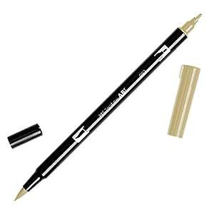 Tombow Dual Brush Pen Art Marker, 992 - Sand, 1-Pack