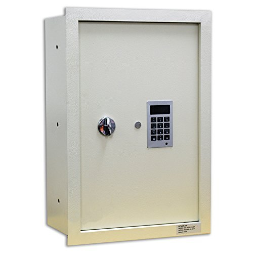 Protex WES2113-DF Fire Resistant Electronic Wall Safe by Protex