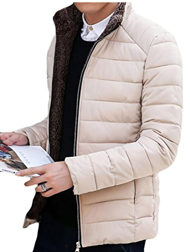 Coreana Piumini Casuale Giacche Generici Puffer Cappotto Alla Di 3 Colletto Uomini ExgqgPF6w