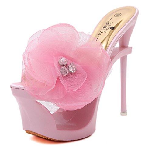 Baile Zapatos Size EU Do Noche y Salón New de Satén con de para de Gold Latinos Hebilla Silver Zapatos Red Zapatos Salsa Mujer Fiesta Sandal vCxCdfwqg