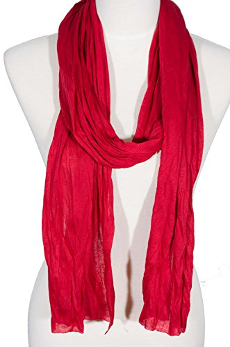 "Plain solid Color Scarf, more than 40 colors, 76"" long, 14"" wide, Jersey Scarf"