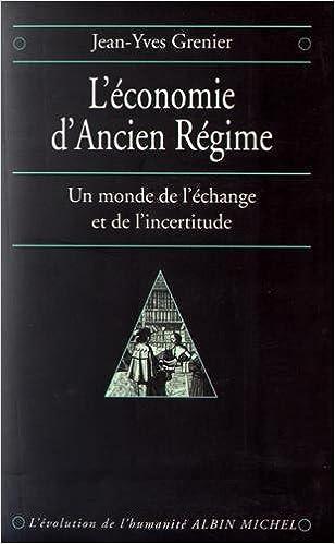 """Résultat de recherche d'images pour """"L'économie d'Ancien Régime"""""""