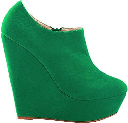 Green Find Femme Plateforme Vert Nice 5 36 EU Saa6qIw