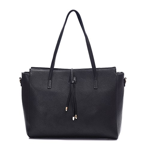 Women's Leather Tote Bag Shoulder Bag Large Purse Handbags Fit 13 Inch Laptop Bag