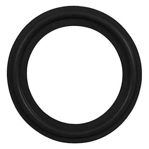 Black 1.5 FKM Sanitary Tri-Clamp Gasket