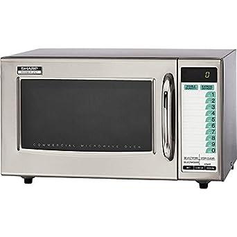 Amazon.com: Sharp Medium-Duty Commercial Microwave Oven