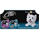 Cesar Canine Cuisine Wet Dog Food, Filet Mignon & New York Strip, 3.5 oz (Pack of 12) Larger Image