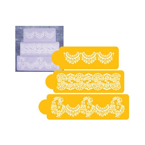 Designer Decorating Stencil Alencon Lace Set by Designer Stencils