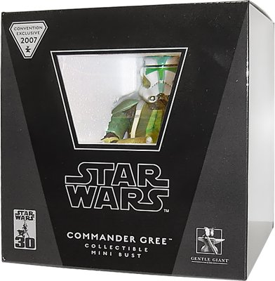 Star Wars Gentle Giant Convention Exclusive Mini Bust Commander Gree - Exclusive Mini Bust