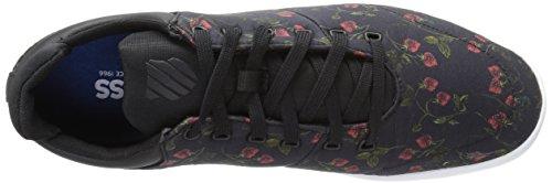 K-swiss Dames Aerodynamische Trainer Liberty Sneaker Zwart / Wit