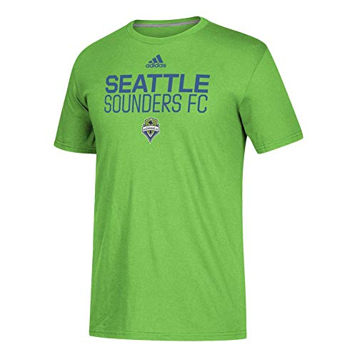 (adidas Men's Seattle Sounders FC Alternate Locker Room SS Tee (Medium))