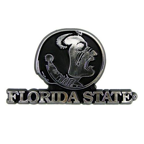 Hall of Fame Memorabilia Florida State Seminoles Silver Auto Emblem ()