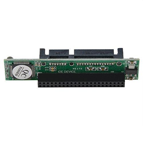 SLLEA 44 pin 2.5'' IDE HDD SSD Laptop Hard Drive Female to 7+15 pin 22 Pin 2.5