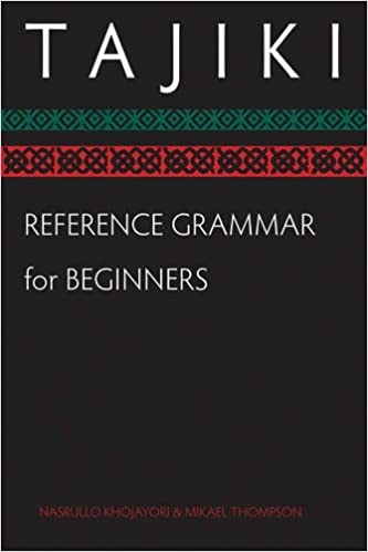 Tajiki Reference Grammar for Beginners