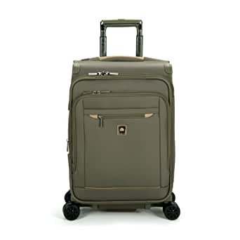 Delsey Luggage Helium X'Pert Lite 2.0 Expandable Spinner Suiter Trolley, Green, One Size